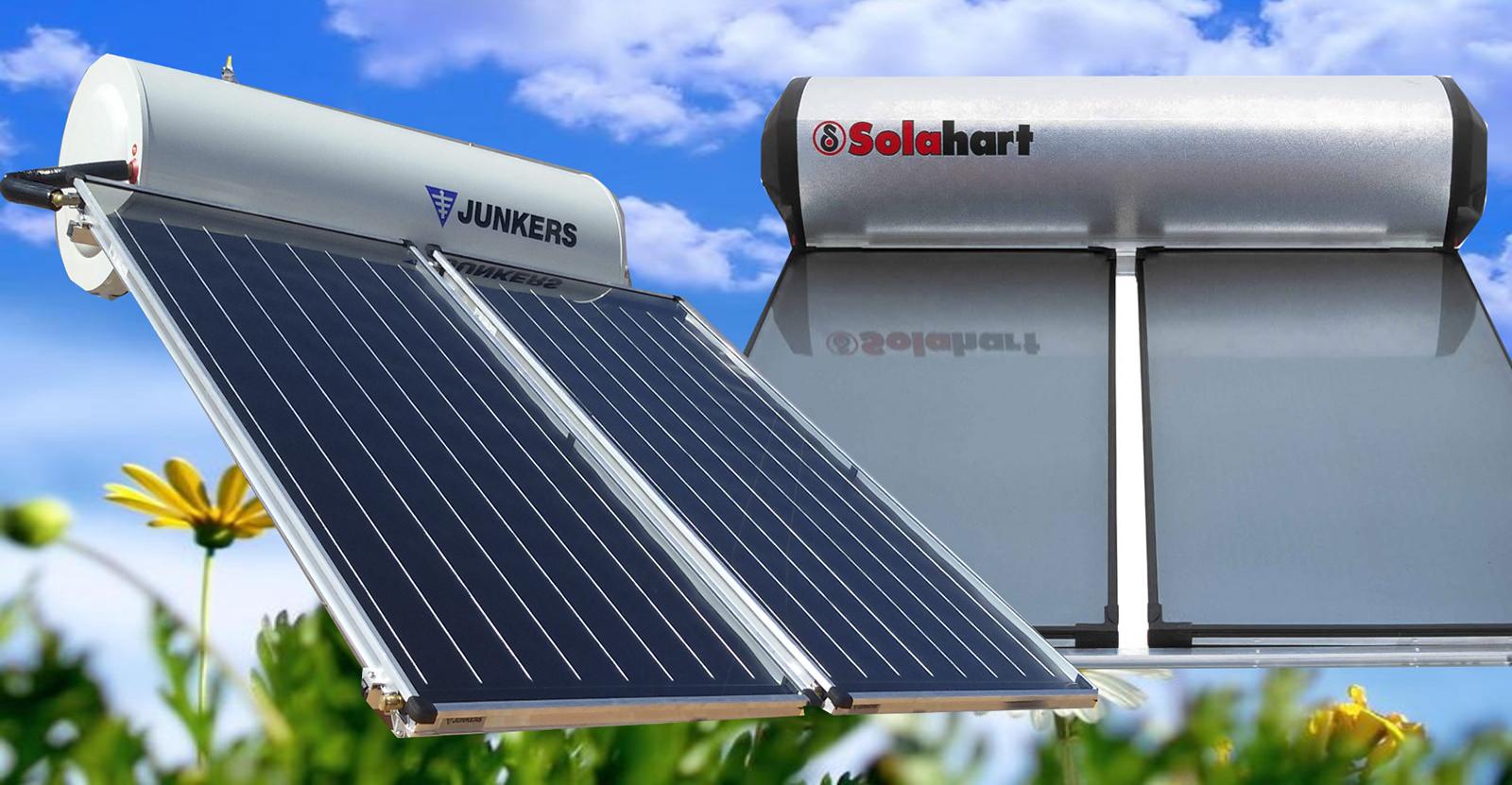 Energ a solar para agua caliente en almer a termosifones - Agua caliente solar ...